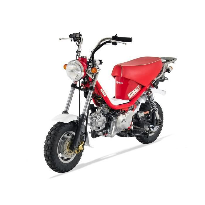 mini moto bubbly 125 semi auto rouge skyteam achat. Black Bedroom Furniture Sets. Home Design Ideas
