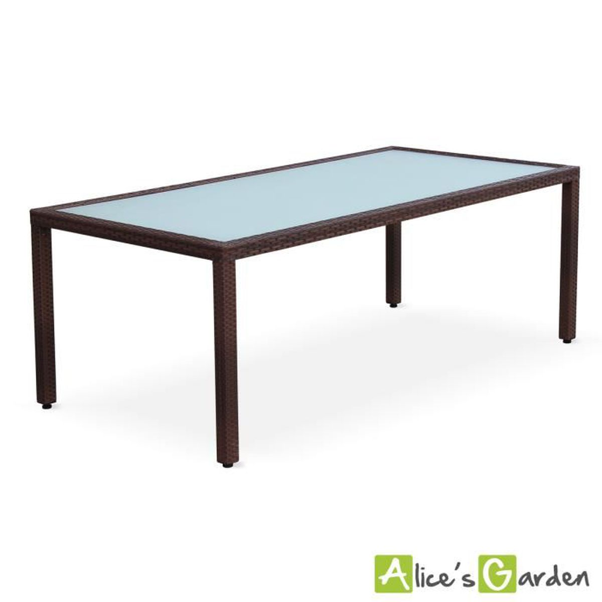 table de jardin 200cm achat vente table de jardin 200cm pas cher cdiscount. Black Bedroom Furniture Sets. Home Design Ideas
