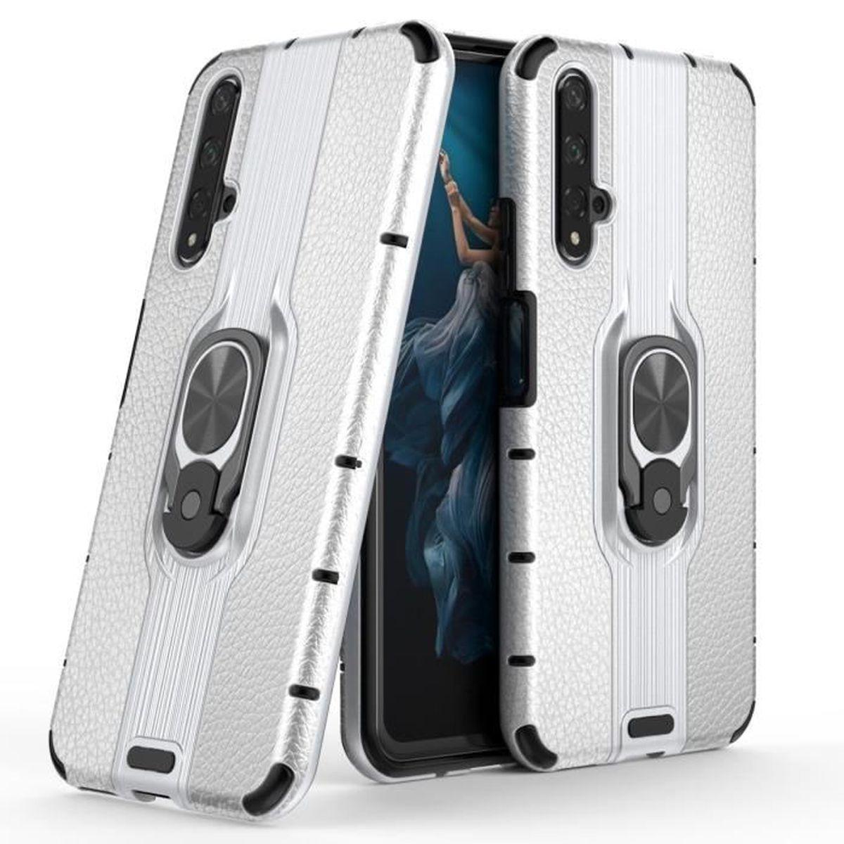 Coque Huawei Nova 5T, Etui 2 en 1 Ultra Mince Anti-Choc Souple ...