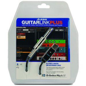 CÂBLES - JACK ALESIS RAL GUITARLINK-PLUS Câble USB jack 6,35 mm