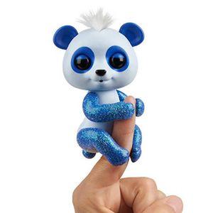 Blizzard – Interactive... bleu et blanc Untamed Dire Wolf by fingerlings