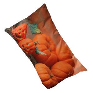 HOUSSE DE COUSSIN Halloween Ghost citrouille oreiller canapé housse
