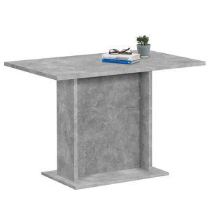 TABLE À MANGER SEULE Table à manger Brandon 110x70 - béton