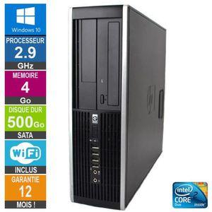 UNITÉ CENTRALE  PC HP 8000 Elite SFF E7500 2.93GHz 4Go/500Go Wifi