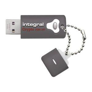 DISQUE DUR SSD Integral Crypto - Clé USB - 8 Go - USB 3.0