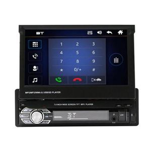 AUTORADIO Lecteur MP5 MP3 Radio GPS Bluetooth Voiture 7 pouc