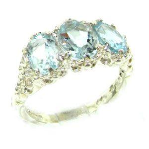 BAGUE - ANNEAU Bague pour Femme en Or blanc 9 carats 375-1000 ser