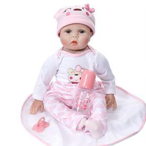 POUPÉE Reborn Poupée Réaliste Réaliste Baby Doll Cadeau a
