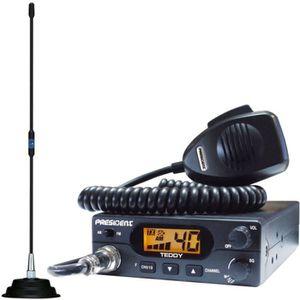 RADIO CB Pack CB PRESIDENT TEDDY ASC + Antenne FLORIDA