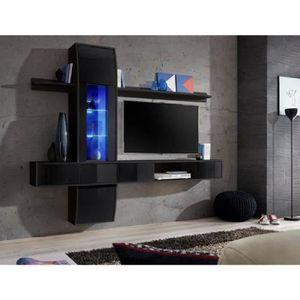 MEUBLE TV Ensemble meuble salon de la collection COMET II ,