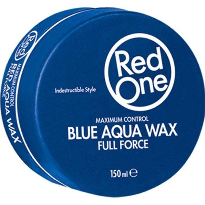 Red One Blue Aqua Hair Gel Wax full force 150ml