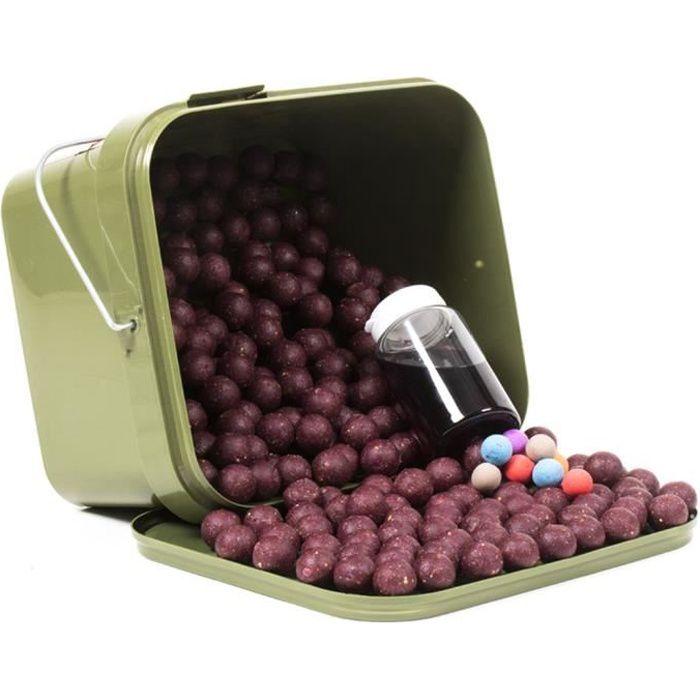 Tasty Baits Mulberry Magic - Bouillette Sessionpack - 2.5kg