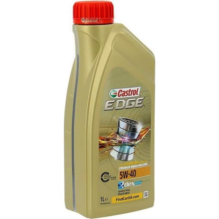 CASTROL Huile moteur EDGE 5W-40 1L
