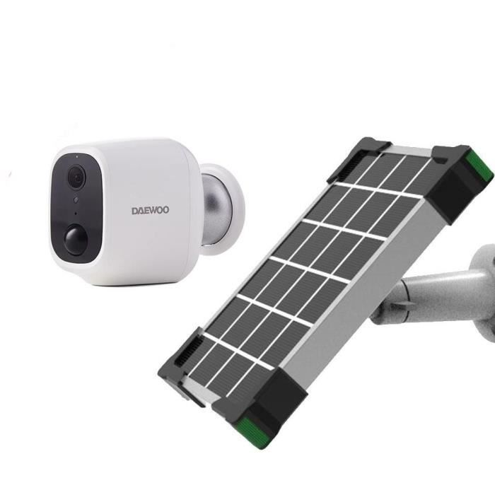 DAEWOO Caméra autonome W501 avec panneau solaire