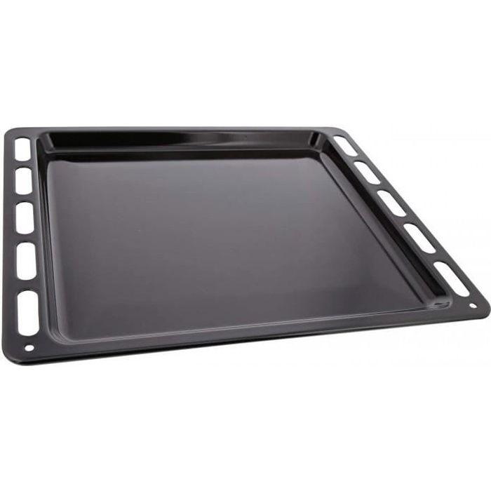 Plaque à pâtisserie noire 42,3 x 37,5 cm pour fours Electrolux - Zanussi - AEG - Faure 140128879040