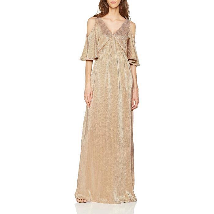 Intropia P665VEX06274533 Robe, Ecru (Nude 533), (Taille Fabricant:38) Femme - P665VEX06274-533