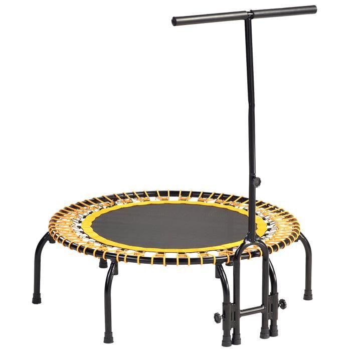 Kangui - Mini trampoline FITNESS FitBodi Ø100 - Qualité Pro - Certifié par le CRITT