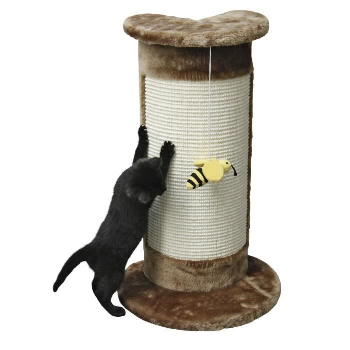 KERBL Arbre à chat angulaire 58cm - Brun
