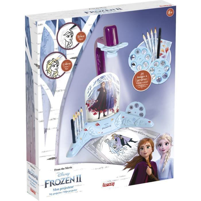 LANSAY La reine des neiges II Jeu de coloriage Mon projecteur - Fille - À partir de 5 ans
