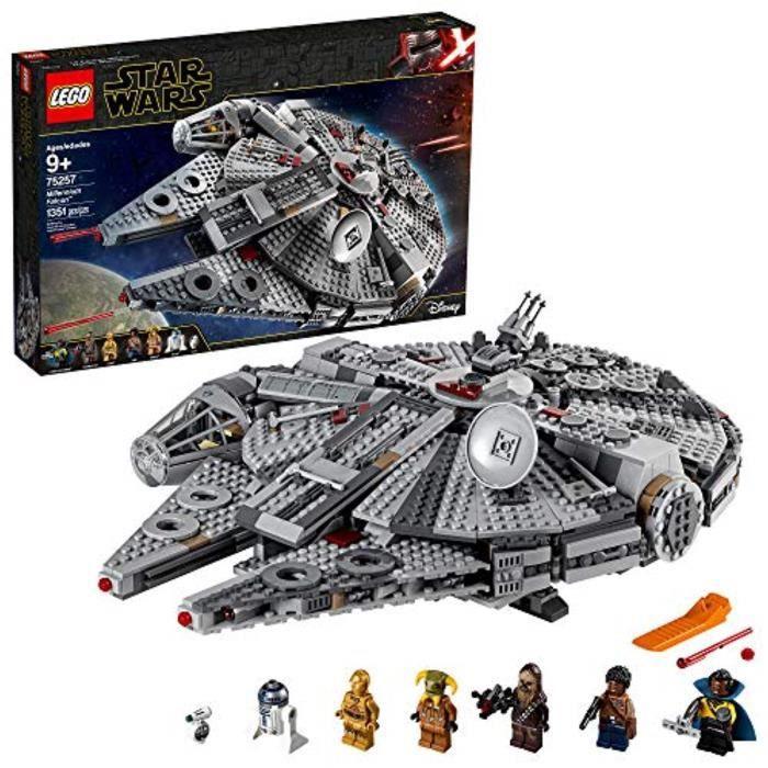 Jeu D'Assemblage CE9YL Star Wars: The Rise of Skywalker Millennium Falcon 75257 Kit de construction de modèle de vaisseau spatial et