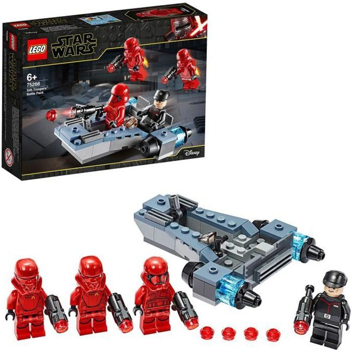 LEGO® Star Wars™ 75266 - Coffret de bataille Sith Troopers™