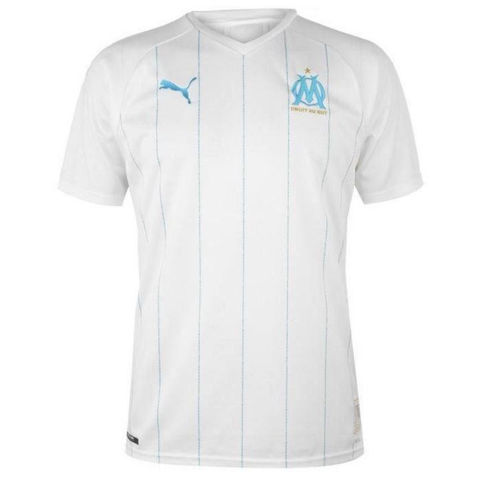 Nouveau Maillot Enfant Puma OM Olympique de Marseille Domicile Saison 2019-2020