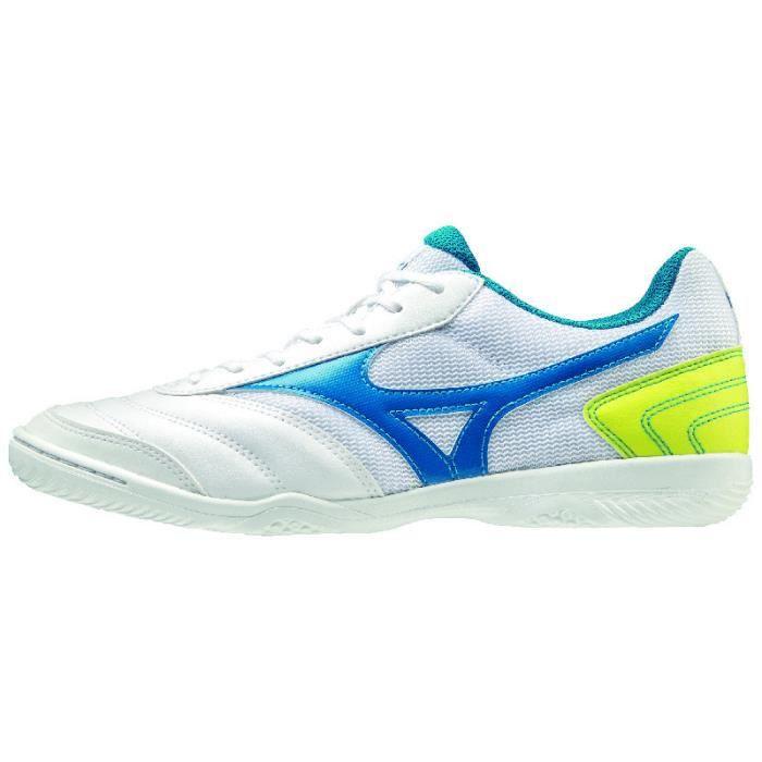 Chaussures de football Mizuno MRL Sala Club IN - blanc/bleu - 42