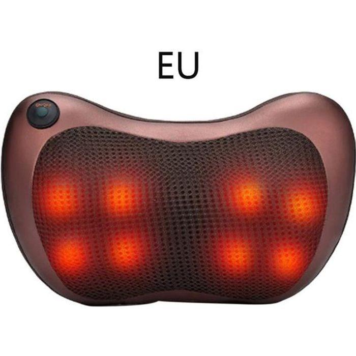 #EXE Coussin massage chauffant, massant bien etre shiatsu,EU plug