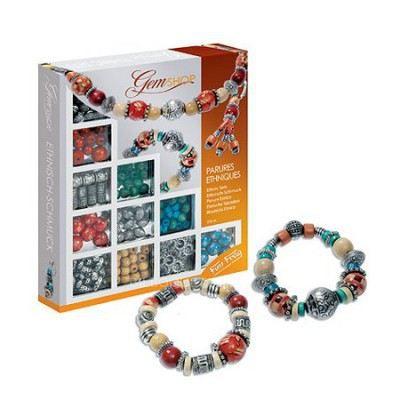 Kit créatif bijoux - Gemshop - Parures ethniques