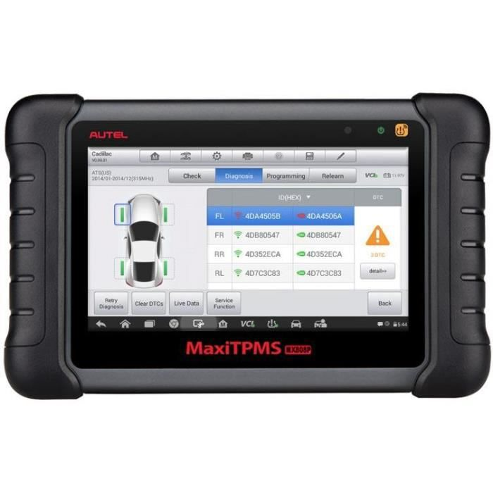 AUTEL MX808TS / MK808TS Valise diagnostic avec TPMS-Version Europe-Assistance en France-2 ans de garantie