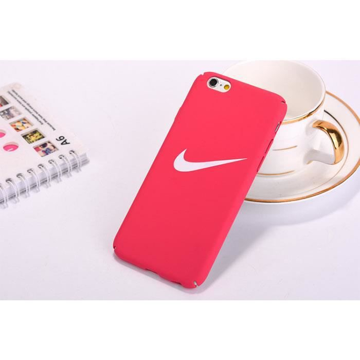 coque rose rouge iphone 7