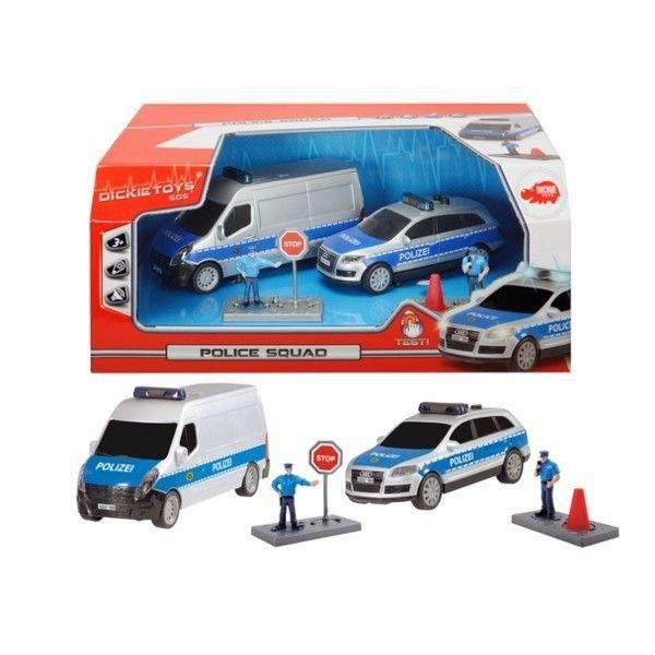 VOITURE - CAMION SET POLICE