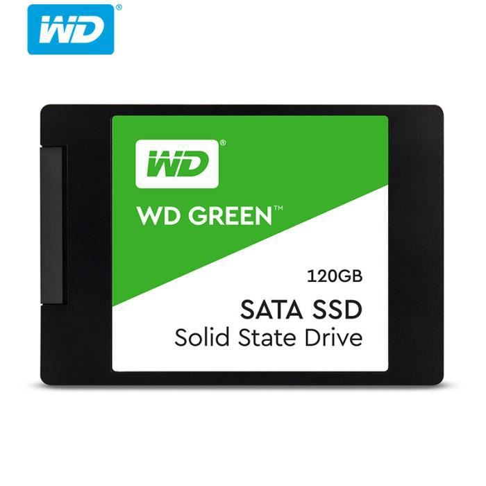 DISQUE DUR SSD WD Disque Dur SSD 2,5 pouces 120 Go SATA3 540 Mo -