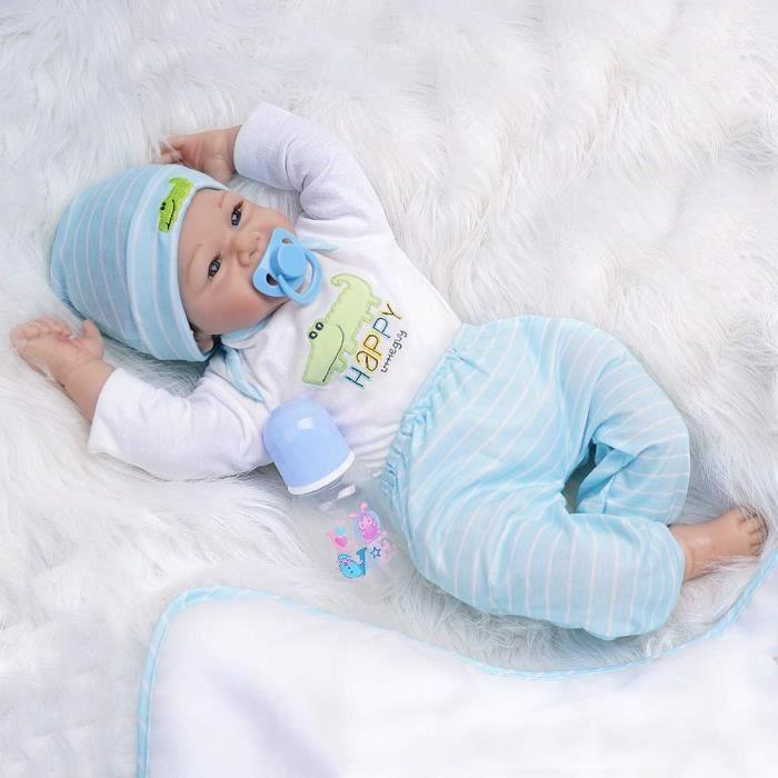 Nouveau-né new born poupées garçon et filles en blanc certificat de naissance