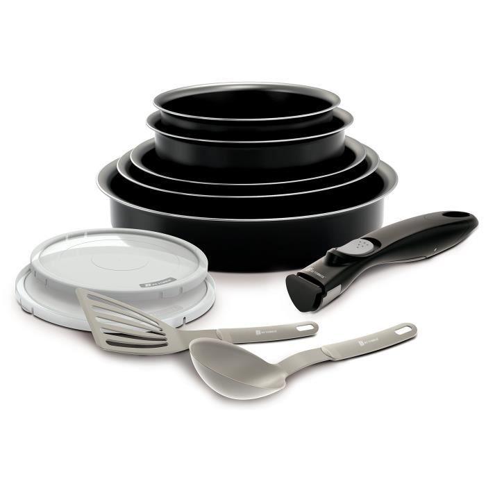 BATTERIE DE CUISINE BACKEN 181001 -Set de poêles et casseroles -10 Piè