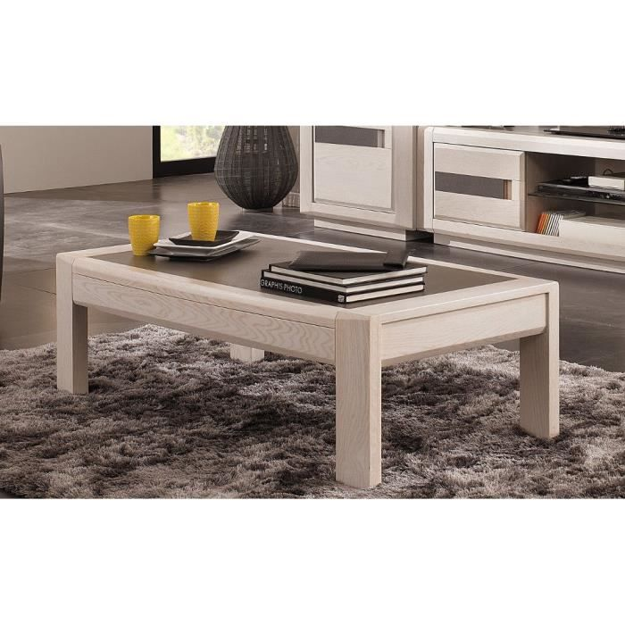 Table Basse Ottawa Ch Ne Naturel Achat Vente Table
