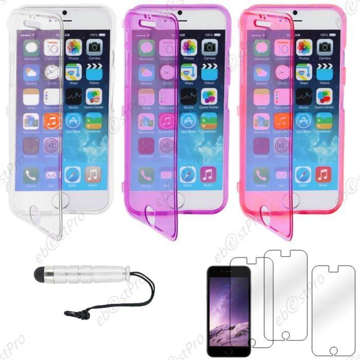 ebestStar pour Apple iPhone 6S Plus 5.5 Lot x3 Coq