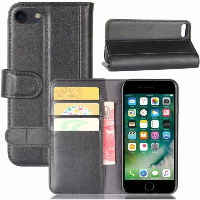 flip coque iphone se 2020 4 7 etui de protection
