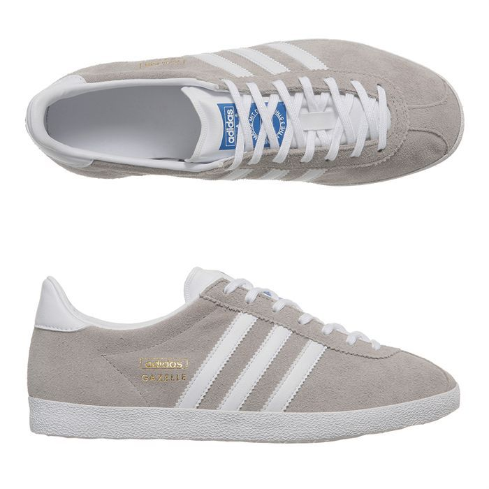 adidas baskets gazelle og homme blanc gris achat vente adidas gazelle og homme pas cher. Black Bedroom Furniture Sets. Home Design Ideas