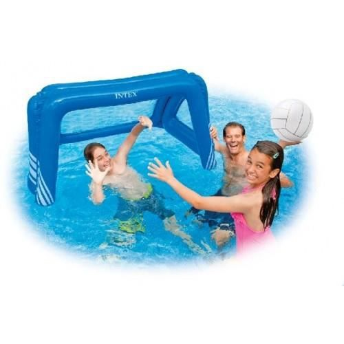 But water polo foot gonflable intex achat vente jeux for Soldes piscine intex