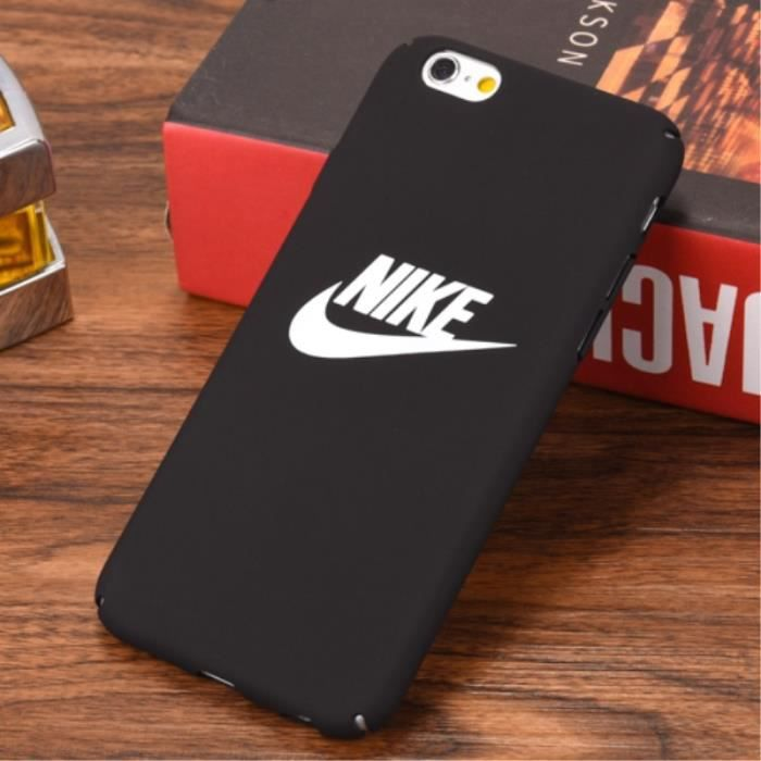 coque iphone 6 6s nike noir logo coque compatible