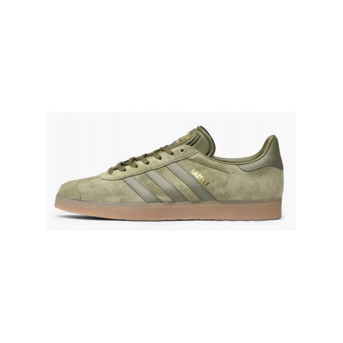 basket adidas gazelle femme kaki