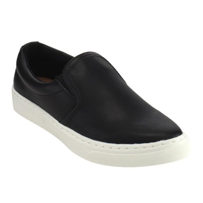 If13 Classic Elastic Panel Slip On Stitched Fashion Sneaker GGO29 Taille-40