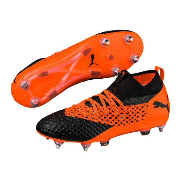 Chaussures Netfit Puma Noir Sg Mx Football Future Orange Prix 2 QxtCrshd