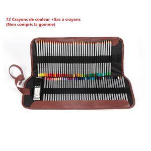 CRAYON DE COULEUR Crayons de couleur professionnels 72 couleurs d'hu