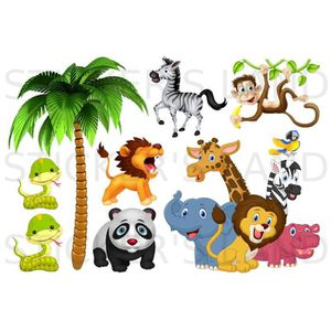 animaux de la jungle achat vente jeux et jouets pas chers. Black Bedroom Furniture Sets. Home Design Ideas