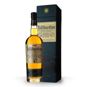 WHISKY BOURBON SCOTCH Tullibardine 500 Sherry Finish 43% 70cl