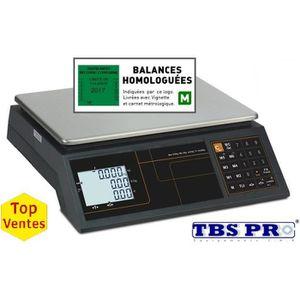 BALANCE ÉLECTRONIQUE Balance commerciale poids 30 KG avec vignette de 2