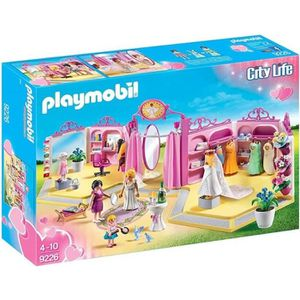 UNIVERS MINIATURE PLAYMOBIL 9226 - City Life - Boutique Robes de Mar
