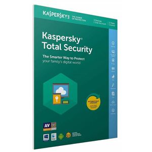 ANTIVIRUS KASPERSKY Total Security 2019, 3 postes, 2 an PC/M